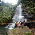 シーカヤックで5歳のお子さんとナーラの滝へ