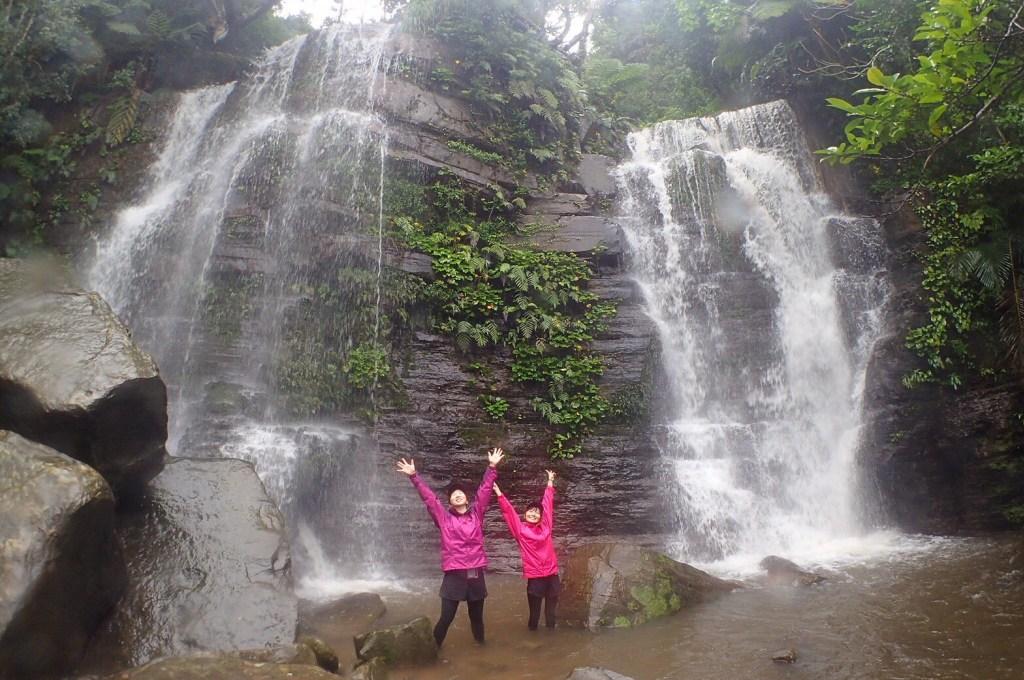 初心者おすすめの沢登りトレッキングツアーならゲータの滝!簡単に3個も滝が見れちゃうよ!