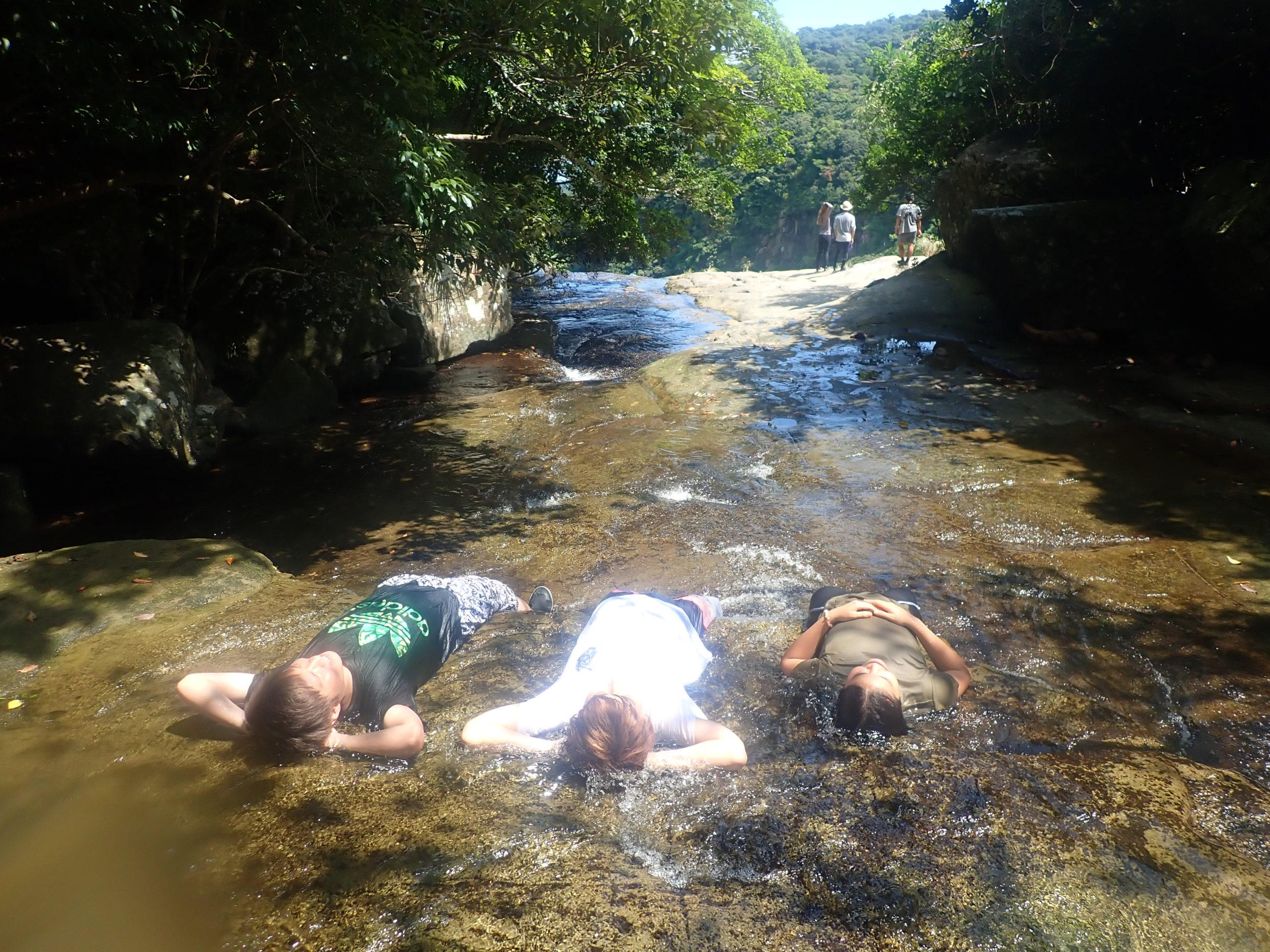 少し遅い夏休み 西表島 ピナイサーラの滝カヌーツアー