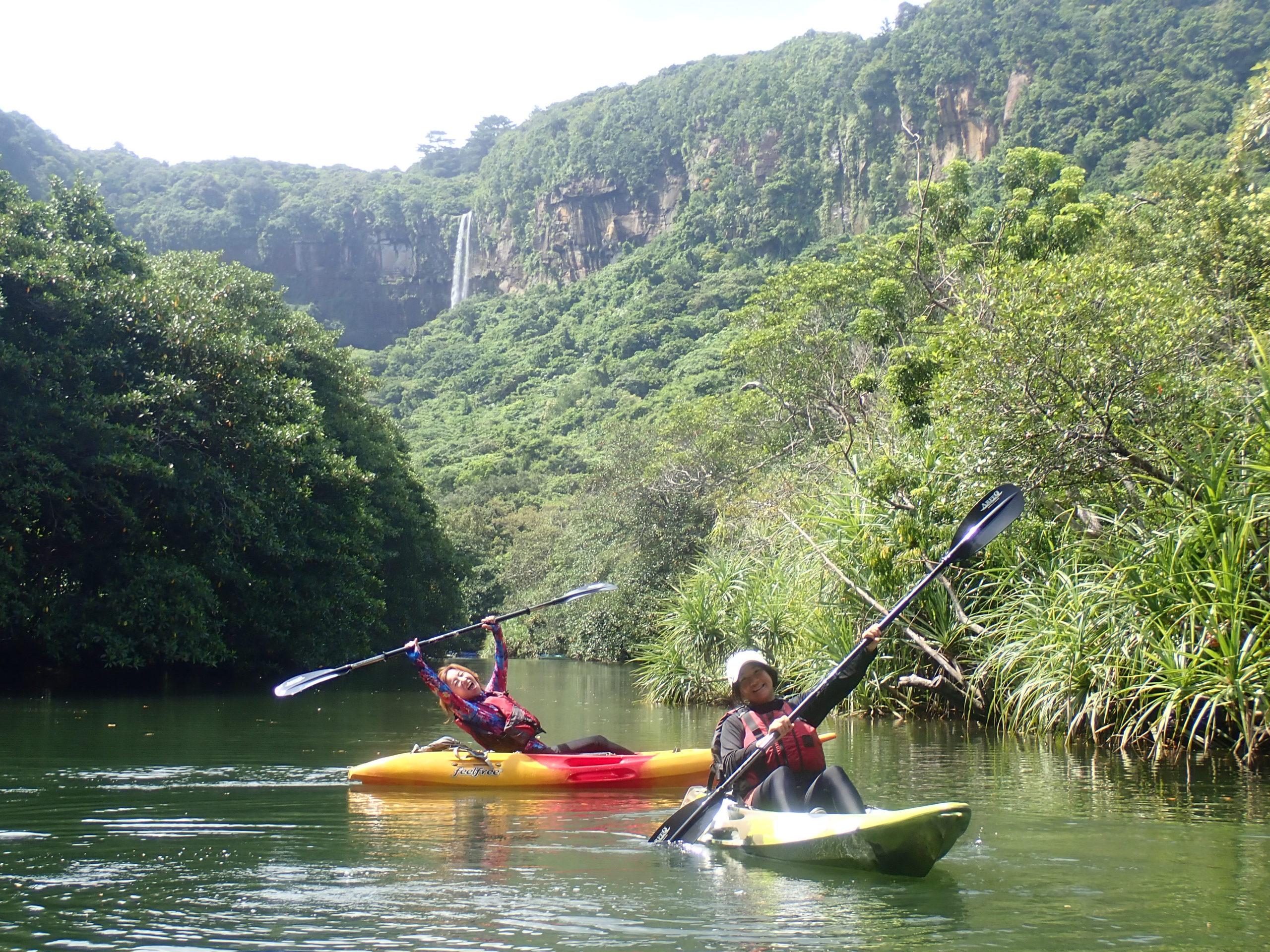 西表島のカヌーツアーならやはりピナイサーラの滝!