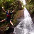 アダナデの滝 シャワークライミング&カヤックツアー