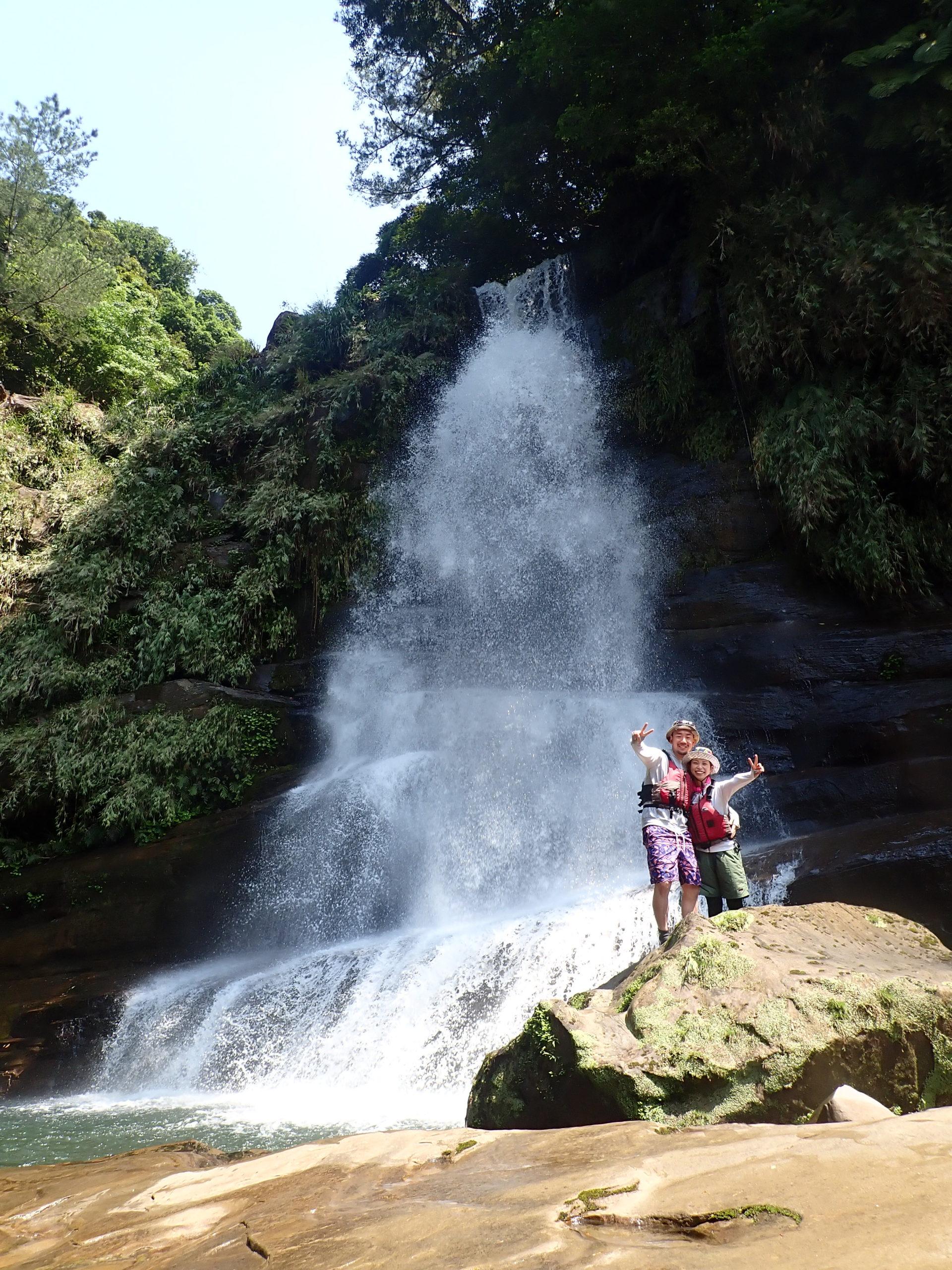 新婚さんいらっしゃ〜い!西表島で最高の思い出「ナーラの滝」カヌーツアー
