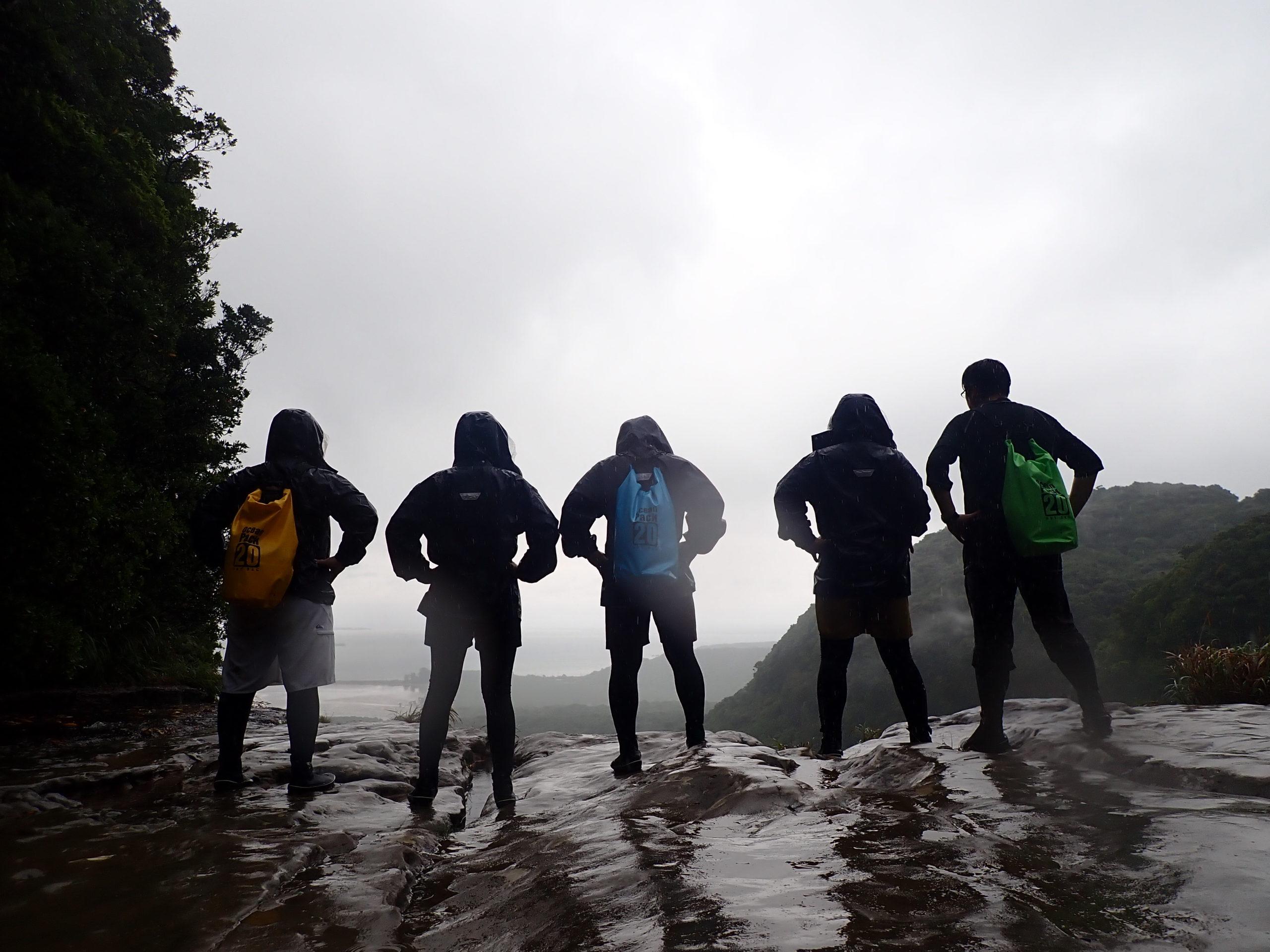 思い出はいつの日も雨(^^)楽しんだもん勝ち 西表島ピナイサーラの滝カヌーツアー