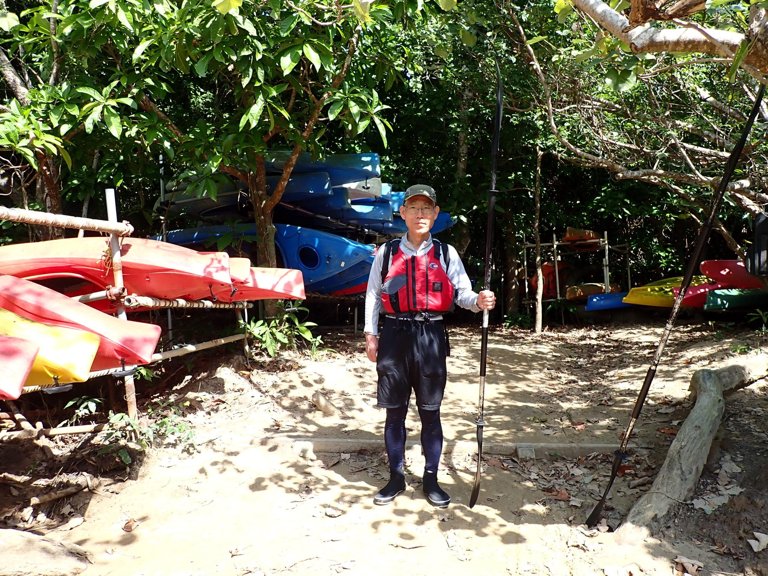 ハイパーお父さんと行く 西表島ピナイサーラの滝カヌーツアー