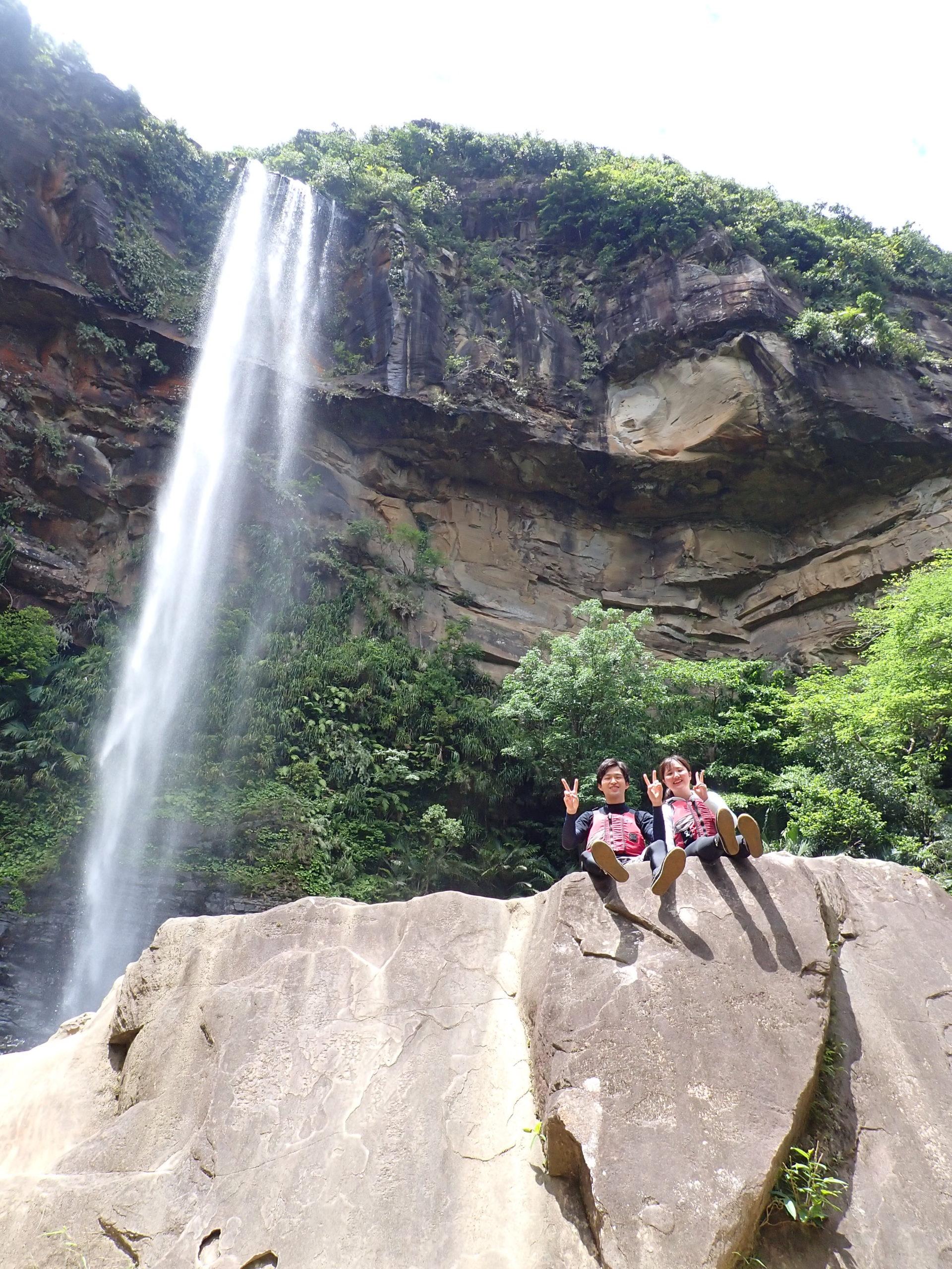 最高の天気に最高の体験!西表島 ピナイサーラの滝 半日カヌーツアー