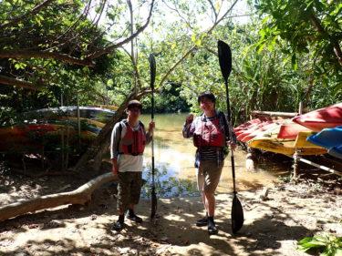 旅の目的はそれぞれ。西表島 ピナイサーラの滝カヌー&由布島ツアー
