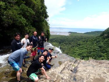快晴×大瀑布な奇跡の1日 西表島 ピナイサーラの滝カヌーツアー