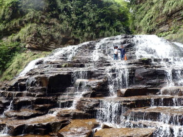 夫婦でマヤグスクの滝にチャレンジ! 西表島 マヤグスクの滝カヌーツアー
