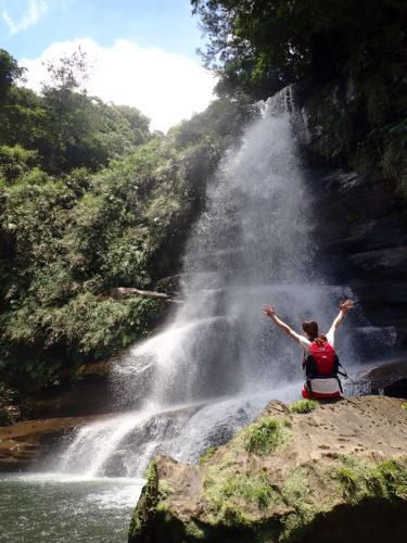 やれば出来る!女子ひとり旅、シングル艇で行く 西表島 ナーラの滝カヌーツアー