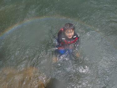 大雨後は最高のピナイサーラ日和!西表島 ピナイサーラの滝カヌーツアー