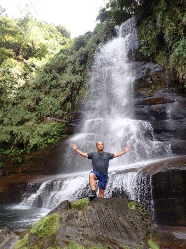 頑張った分だけ感動はひとしお。西表島 ナーラの滝 カヌーツアー
